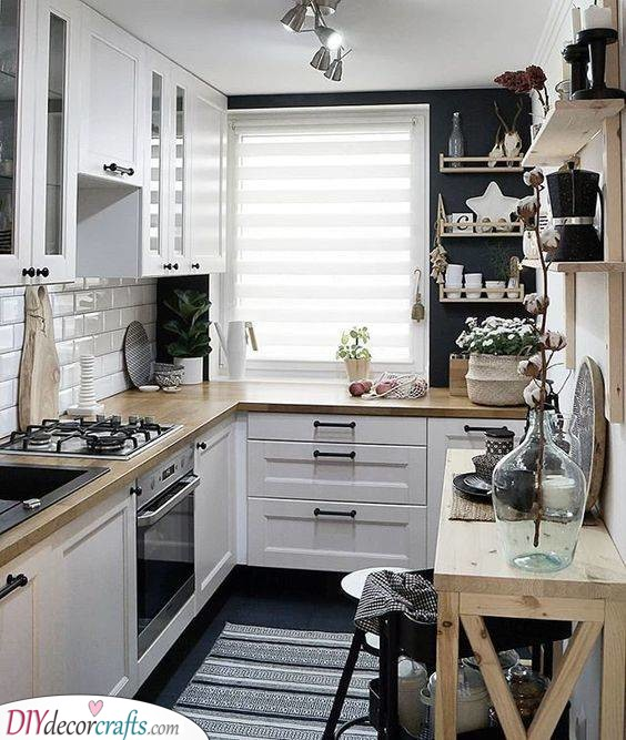 Stunning and Friendly - Small Kitchen Design Ideas