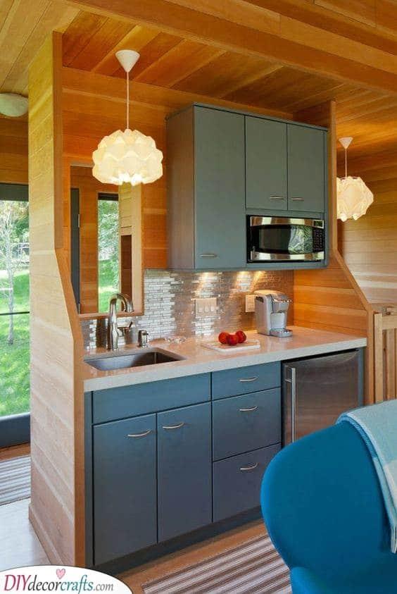 Fabulous in Wood - Small Kitchen Design Ideas