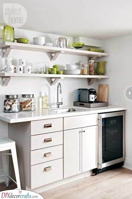 Trendy and Simple - Modern Small Kitchen Ideas