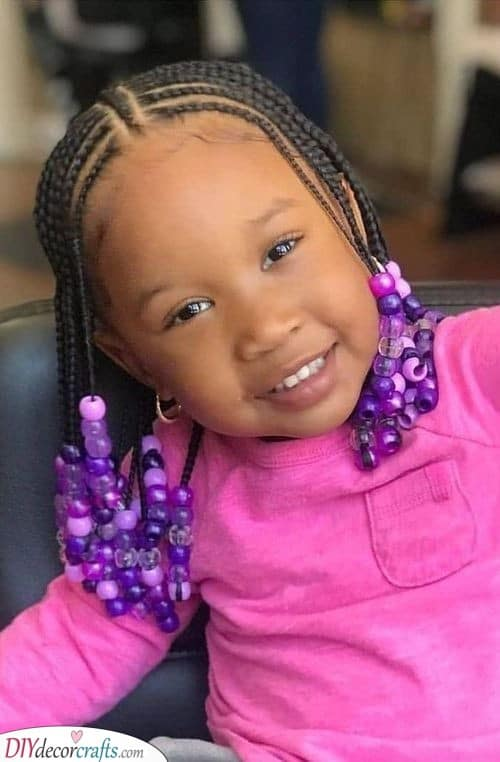 Adding Some Beads - Easy Hairstyles for Black Girls