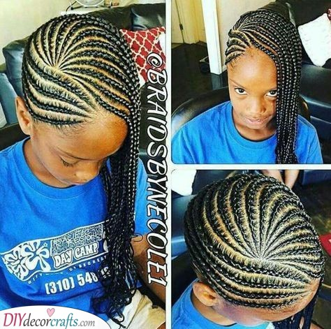 A Chic Style - Cute Hairstyles for Little Black Girls