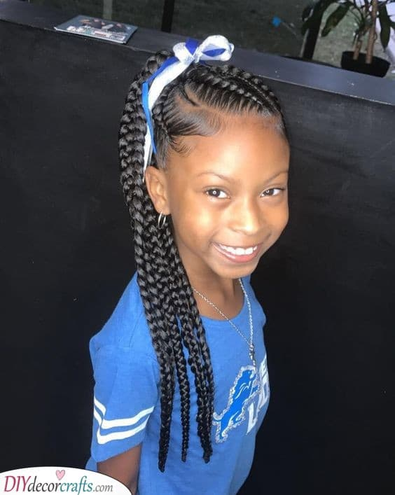 Cute Hairstyles For Little Black Girls Easy Hairstyles For Black Girls
