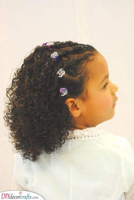 Half Braided, Half Out - For an Amazing Look