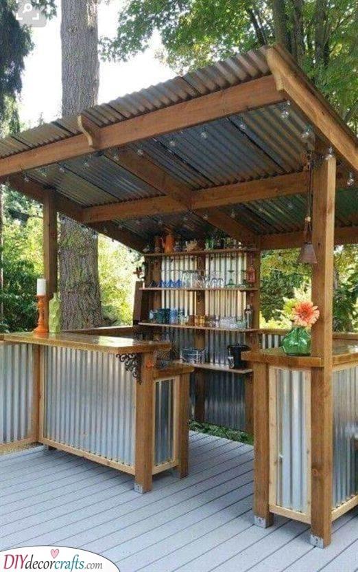 A Barn Atmosphere - Corrugated Tin Ideas