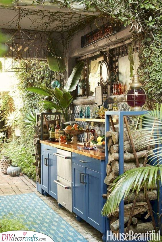 Bohemian and Exotic - A Kitchen Filled with Life