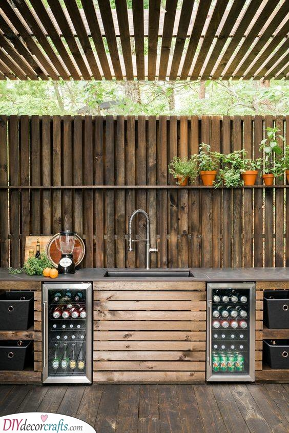 An Earthy and Natural Vibe - Go for Wood