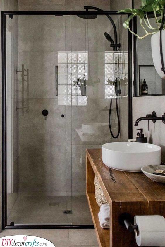 Shower Time - Fabulous Very Small Bathroom Ideas