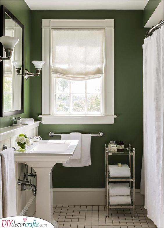 A Shade of Dark Green - Unique and Original