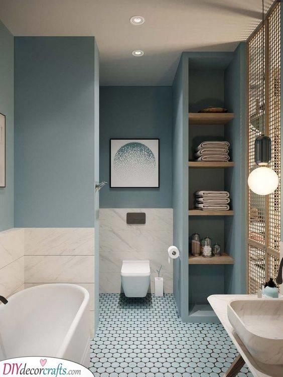 Gorgeous and Creative - Small Bathroom Design Ideas