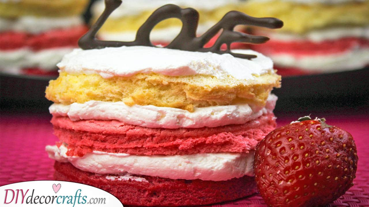 A Scrumptious Cake - Valentines Day Meals