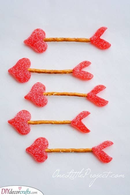 Cupid's Arrows - In the Form of Pretzels