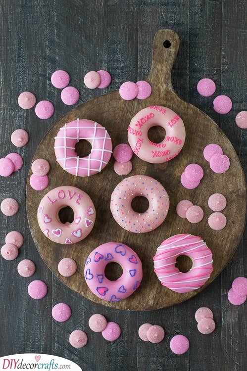 A Variety of Doughnuts - Getting Creative
