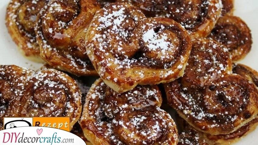 Cinnamon Heart Buns - Valentine's Day Recipes