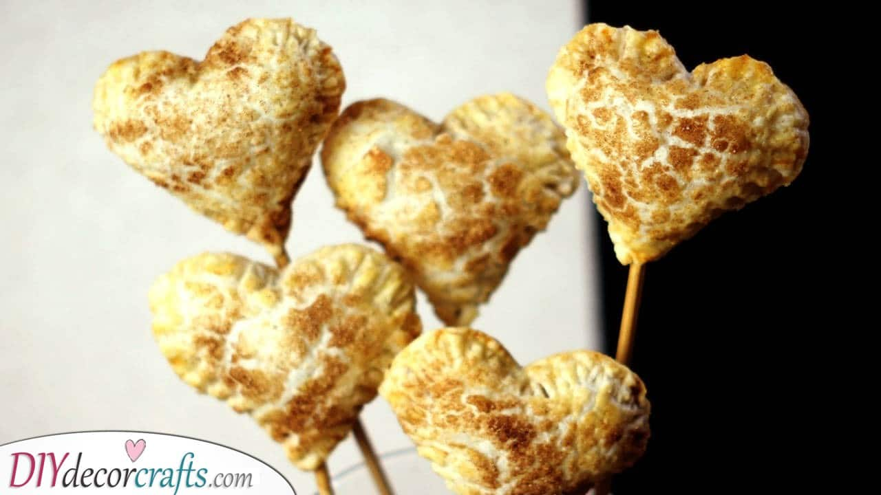 Hearts Filled with Jam - A Tasty Bite