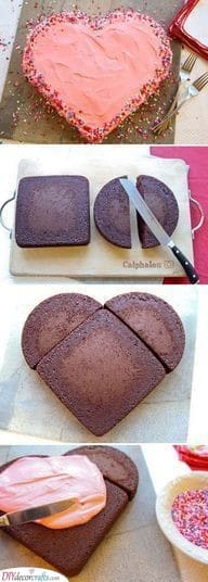An Amazing Cake Hack - How to Make a Heart Cake