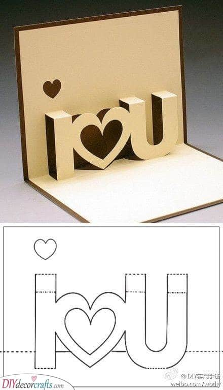 Cute Card for Valentine's - Personal and Intimate
