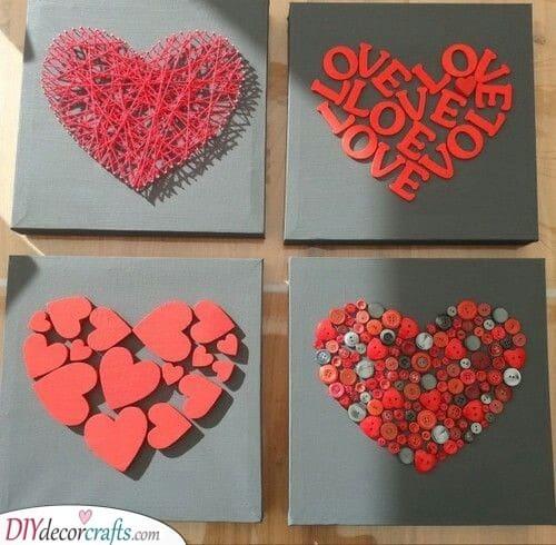 A Take on Hearts - Unique and Creative