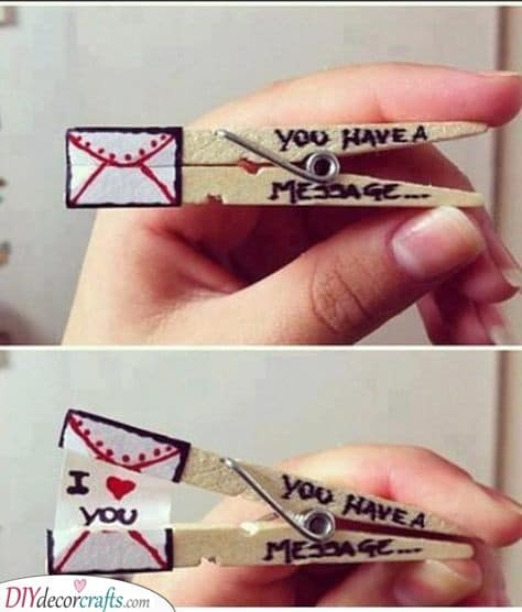 You Received a Message - Valentines Day Gift Ideas for Her