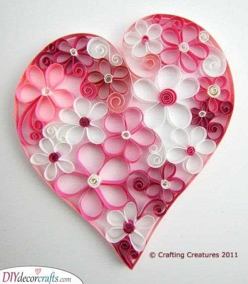 A Gorgeous Paper Craft - Valentines Day Gift Ideas for Her