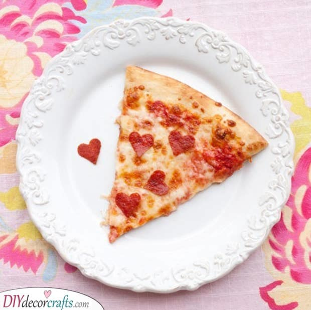 A Slice of Pizza - Personalized Valentines Gifts