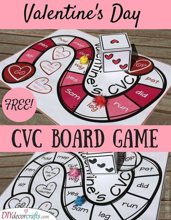 An Adorable Board Game - Cheap Valentines Gift Ideas