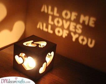A Romantic Present - DIY Valentine's Day Gift Ideas for Men