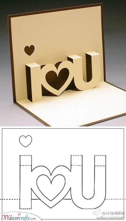 A Cute Card - Tell Them You Love Them