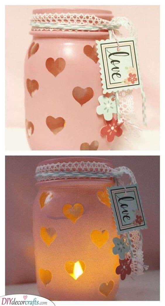 Mason Jar Idea - Best Valentines Day Gifts