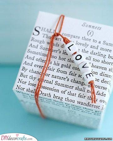 A Wrapping Idea - Creative Valentines Day Gifts