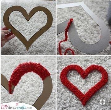 A Fabulous Heart Wreath - DIY Ideas