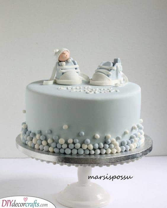 Baby Shower Cake Ideas for Boys - Cakes for Baby Boys