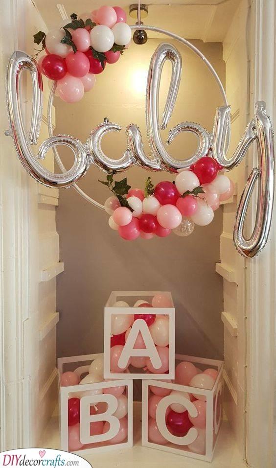 DIY Baby Shower Decorations - Baby Shower Decoration Ideas
