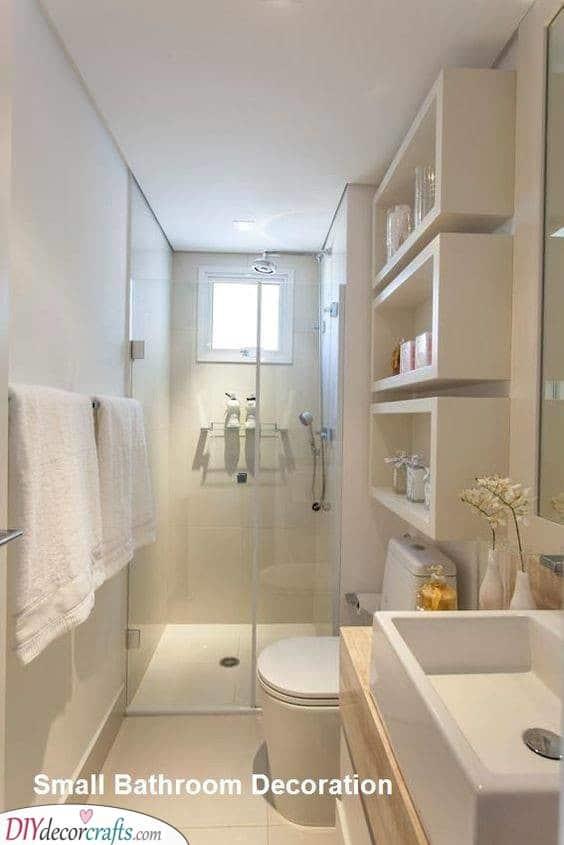 Bathroom Shelf Designs - Amazing Bathroom Shelf Ideas