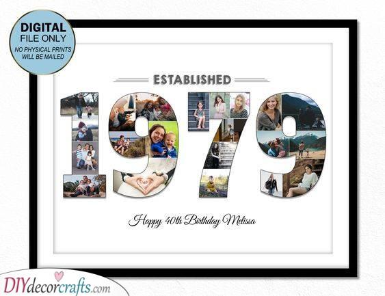 40th Birthday Gift Ideas - Awesome 40th Birthday Presents