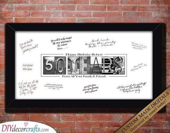 Gift Ideas for 50th Birthday - 50th Birthday Gift Ideas