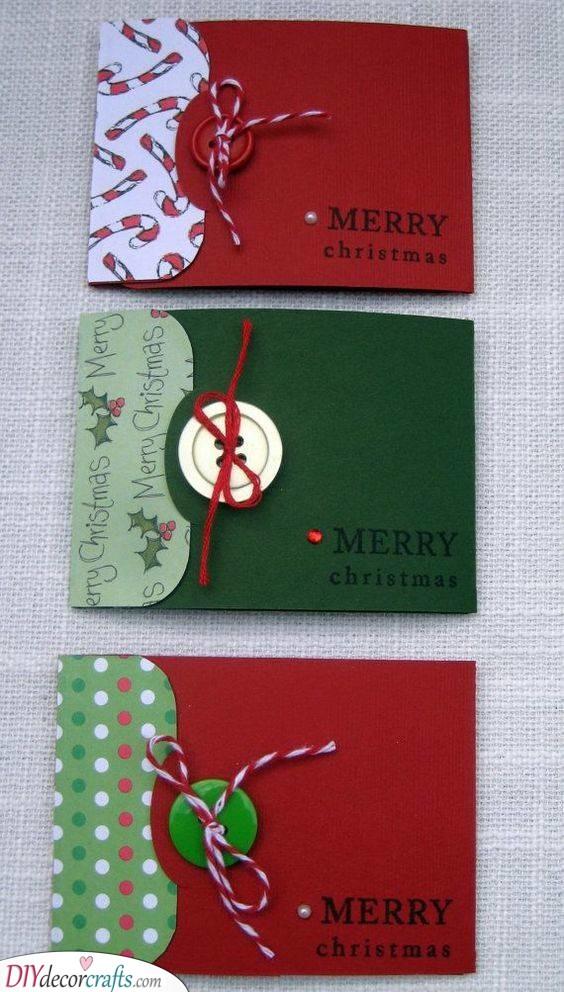 Homemade Christmas Card Ideas - Handmade Christmas Cards