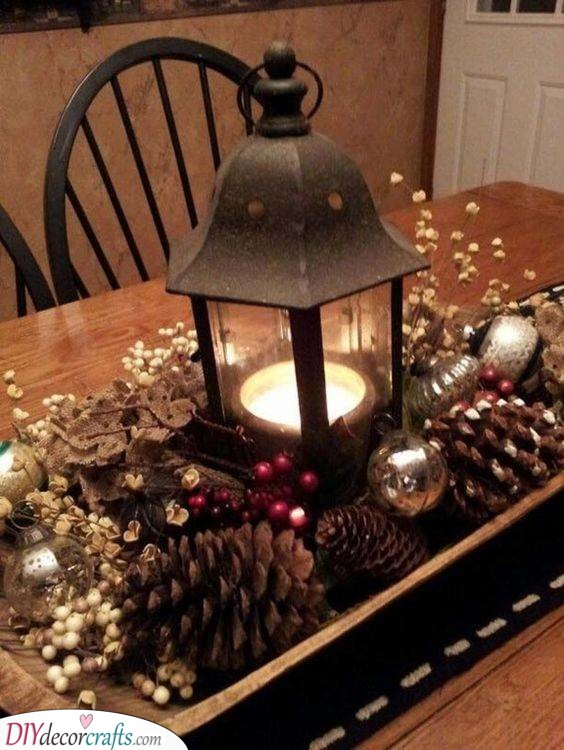 Christmas Table Centrepieces - Christmas Table Decorations