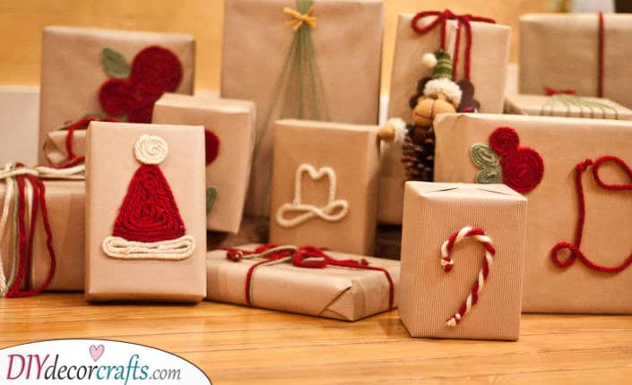 Christmas Gift Wrap Ideas - Amazing Christmas Wrapping Ideas