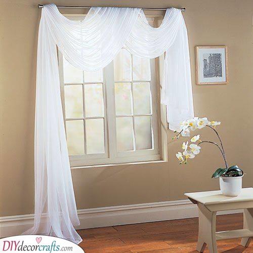 Bedroom Curtain Ideas - Bedroom Window Curtains