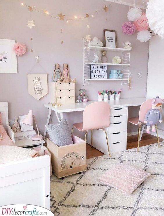 Toddler Girl Bedroom Ideas on a Budget - Little Girl Bedrooms