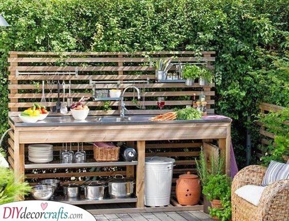 Outdoor Kitchen Cabinets - Amazing Outdoor Kitchen Ideas