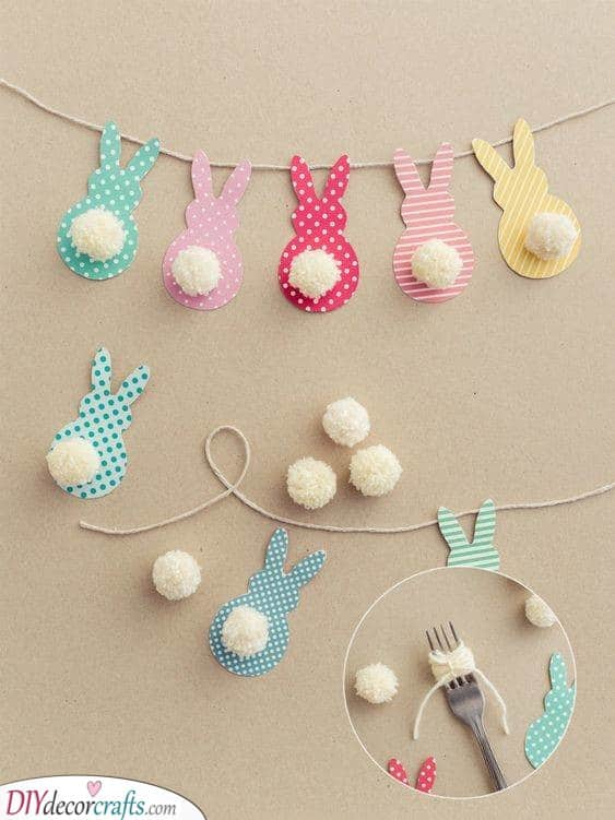 Easter Bunny Craft Ideas - Cute Easter Bunny Decorations