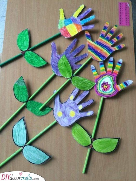 Spring Crafts for Children - Have Fun with the Kids