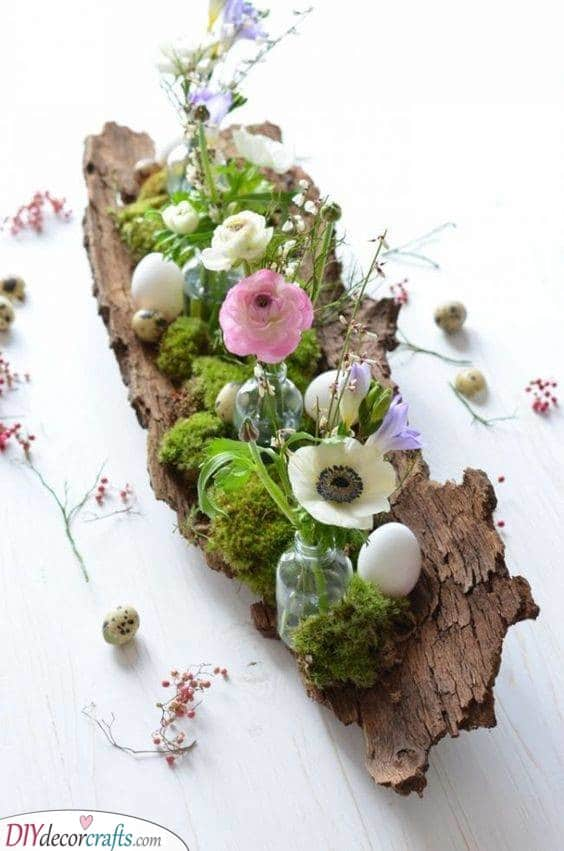 Spring Table Centrepieces - Table Decorations for Spring