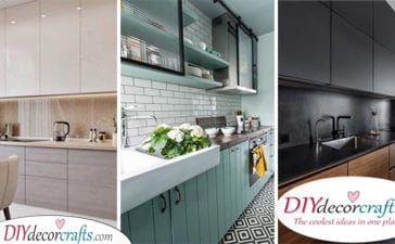 25 KITCHEN CABINET DESIGN IDEAS - Kitchen Cabinet Storage Ideas