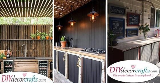 25 OUTDOOR KITCHEN CABINETS - Outdoor Kitchen Cabinet Ideas
