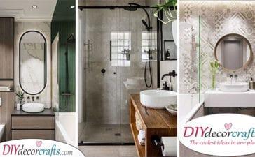 25 SMALL BATHROOM DESIGN IDEAS - Very Small Bathroom Ideas