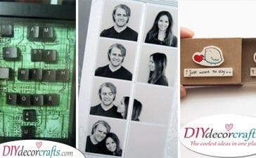 25 DIY VALENTINE'S DAY GIFT IDEAS FOR HIM - Cheap Valentines Gift Ideas