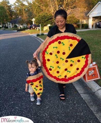 A Slice of the Whole - Pizza Idea