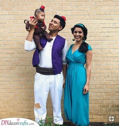 An Aladdin Family - Inspired by Disney